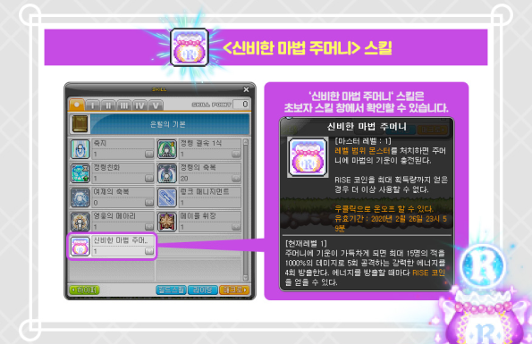 Mysterious Magic Pouch Skill