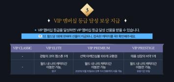 VIP Membership Rank Rewards