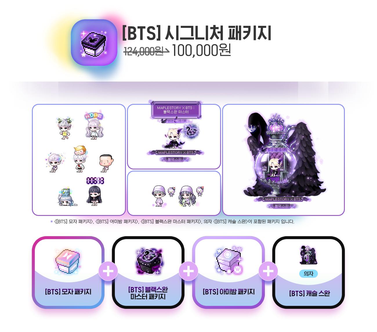 BTS Signature Package