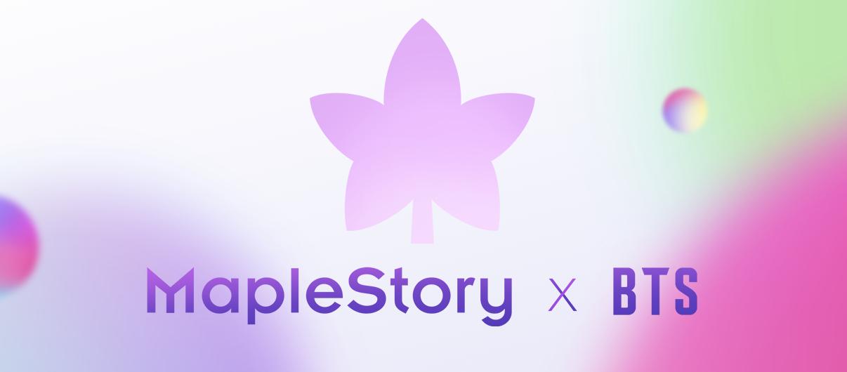 MapleStory X BTS