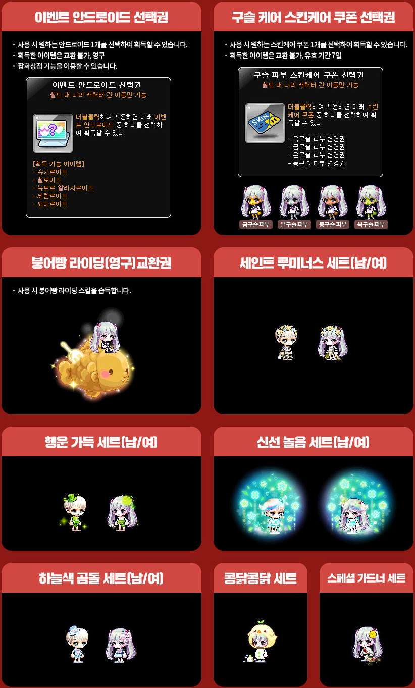 Meso Shop Stage 1 Items