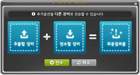 Extra Option Transfer