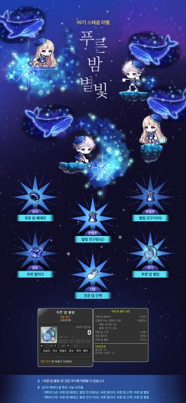 Blue Night Starlight Set