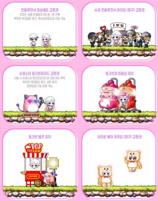 Pink Bean Shop Items (1)