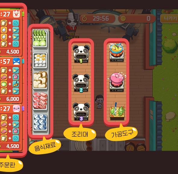 Tangyoon Kitchen UI