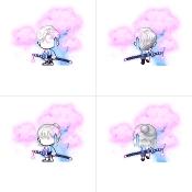 Flower Petal Swordsman Set