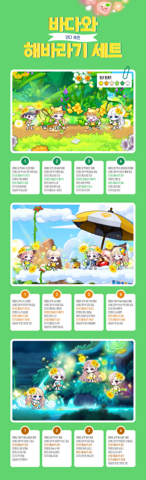Ocean and Sunflowers Set Recommendations