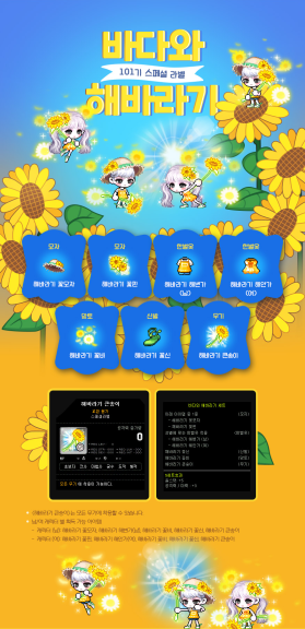 Ocean and Sunflowers Set