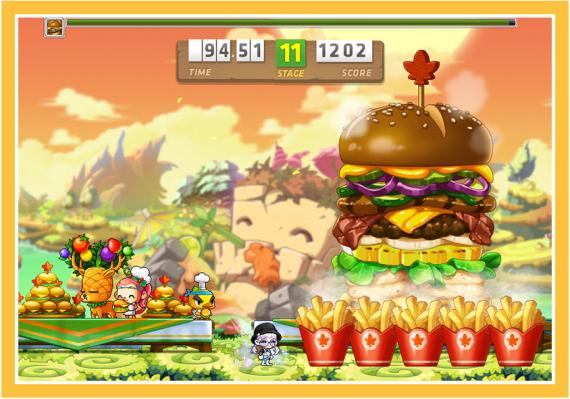 Hamburger Eating Competition